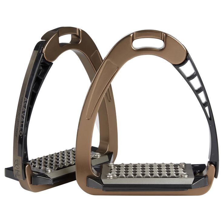 Acavallo - AluPro Safety Stirrups - Bronze