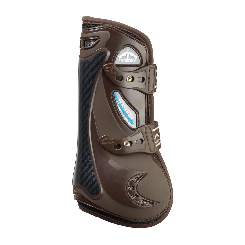 Veredus Carbon Gel Vento Tendon Boots - Brown