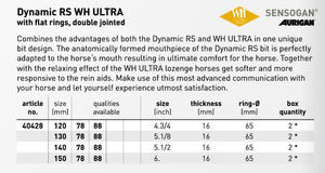 Sprenger Dynamic RS WH Ultra Flat Ring - Double Join