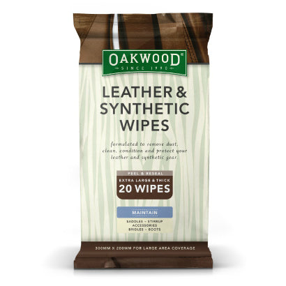 Oakwood - Everyday Leather & Synthetic Wipes