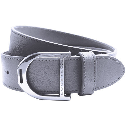 Equetech - Stirrup Leather Belt 35mm - Grey