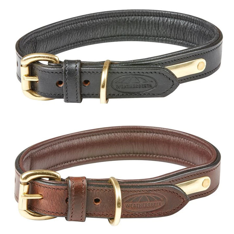 Weatherbeeta - Padded Leather Dog Collar