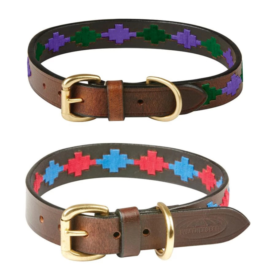 Weatherbeeta - Polo Leather Dog Collar