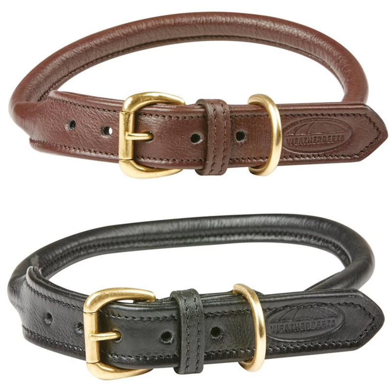 Weatherbeeta - Rolled Leather Dog Collar
