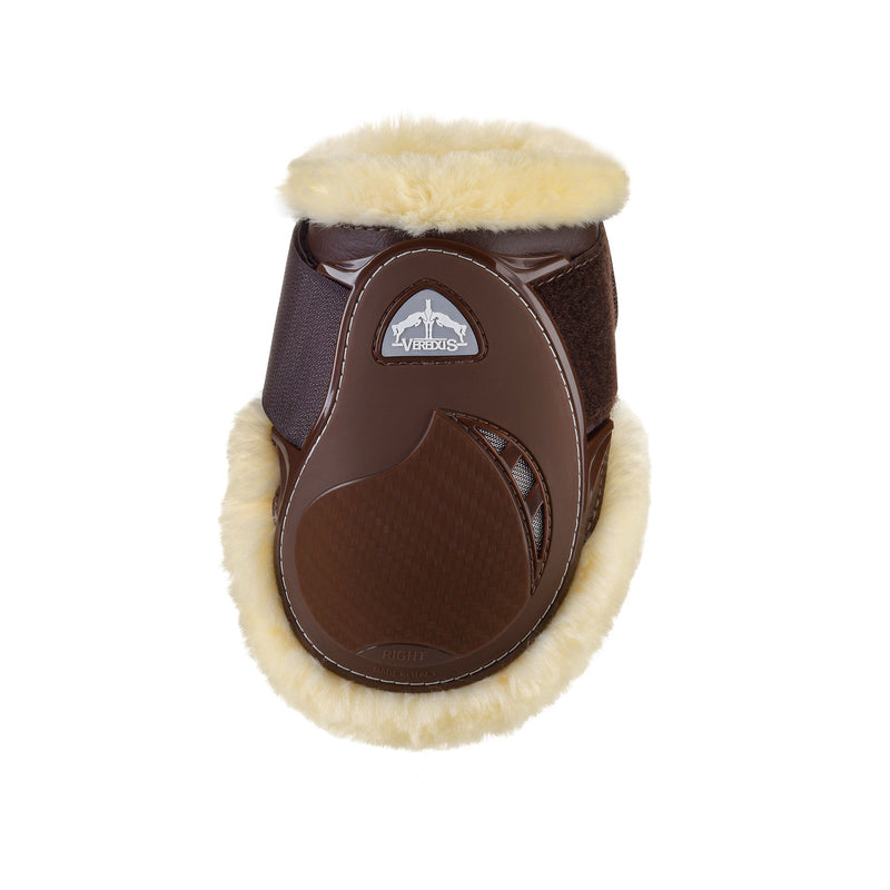 Veredus STS Young Jump Vento Fetlock Boots - Brown
