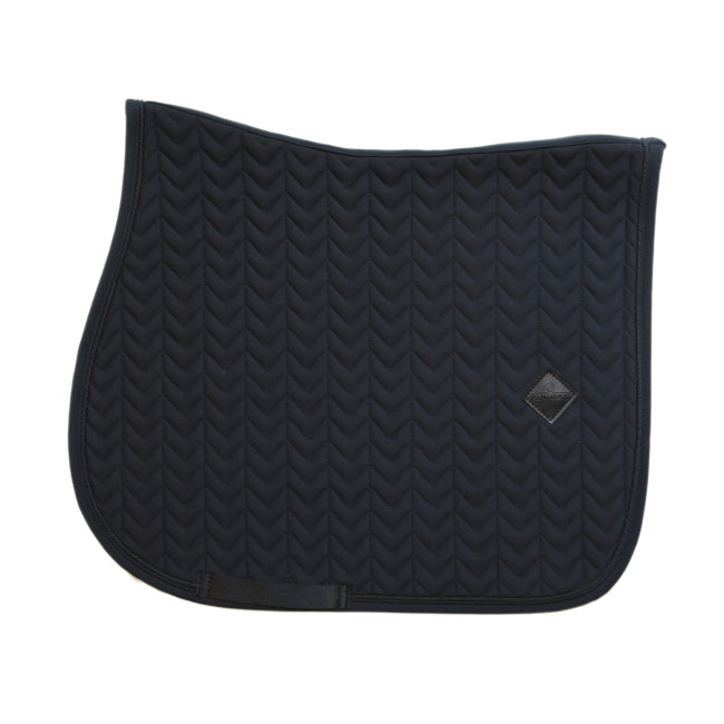 Kentucky - Fishbone Jump Saddle Pad - Black