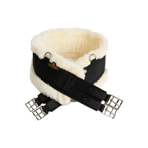 Kentucky - Sheepskin Girth - Black