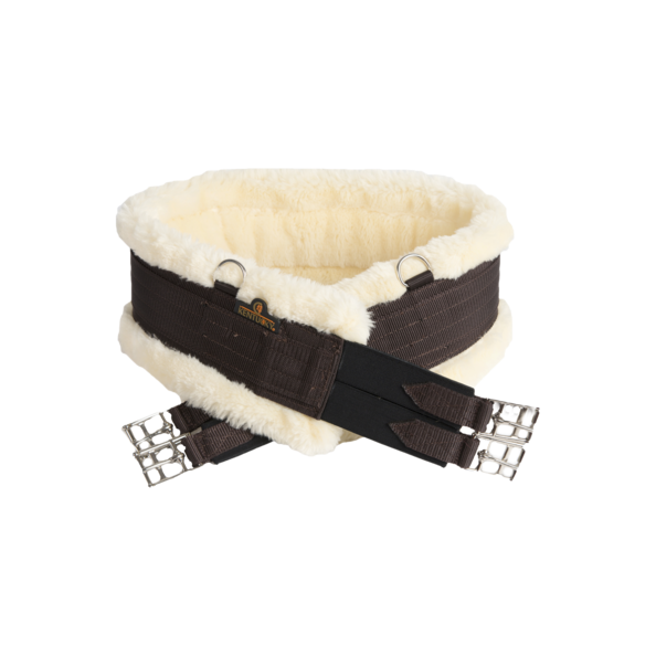 Kentucky - Sheepskin Girth - Brown