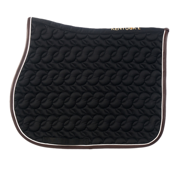 Kentucky - Jump Saddle Pad No Logo - Black
