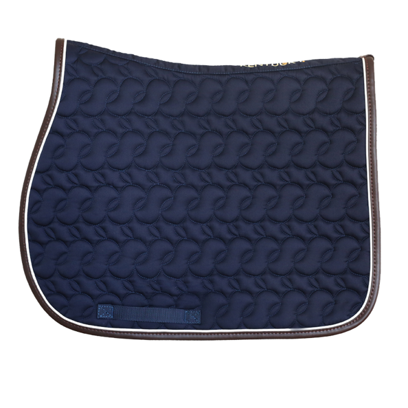Kentucky - Absorb Jump Saddle Pad No Logo - Navy