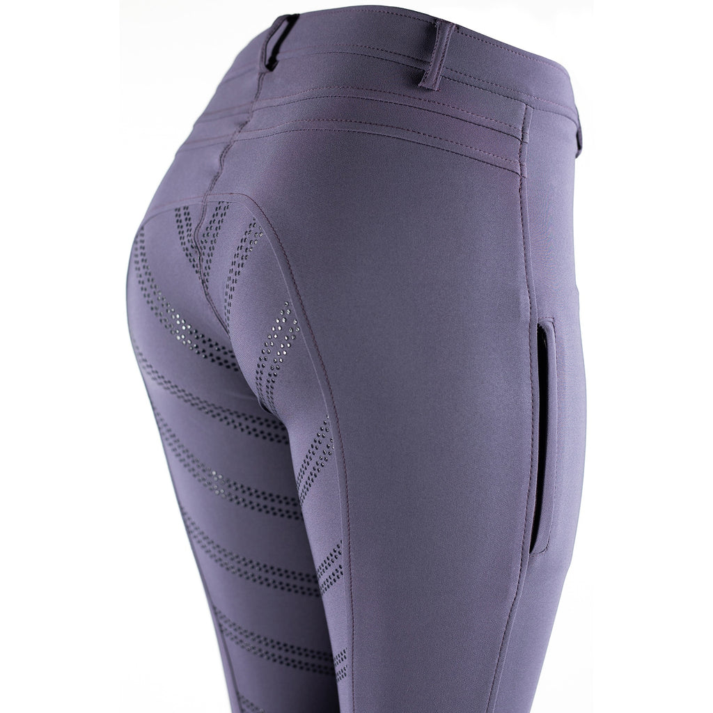 Horze - Ada F/S Silicone Breeches - Purple