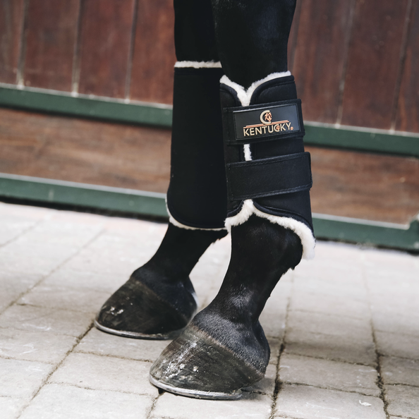 Kentucky - Turnout Boots Solimbra - Front - Black