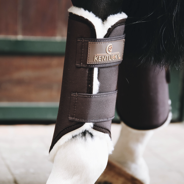 Kentucky - Turnout Boots Solimbra - Hind - Brown