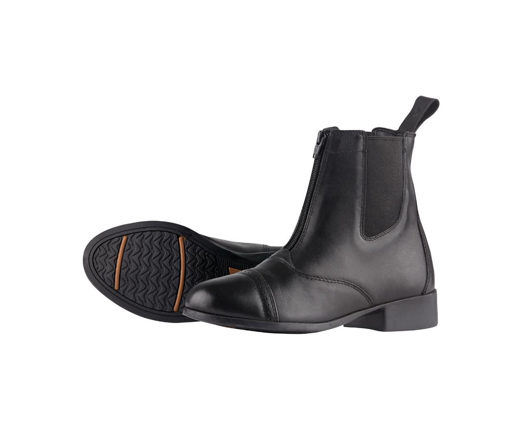 Dublin - Elevation Zip Jodphur Boots - Black (Ladies)