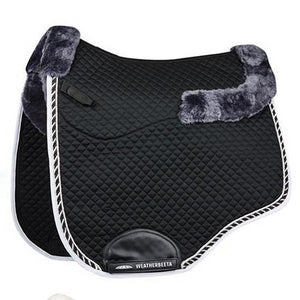 Weatherbeeta - Euro Shaped Sheepskin Dressage Saddle Pad