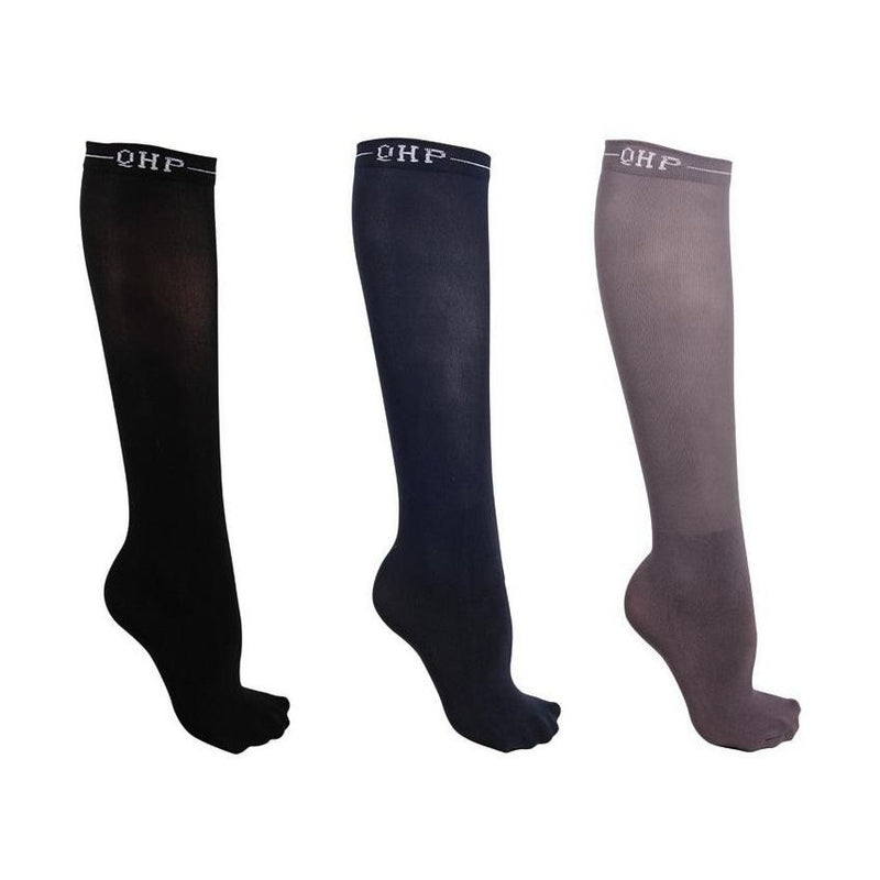 QHP - Knee Stockings - 3 pack