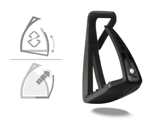 Freejump - Soft'Up Lite Stirrups - Black