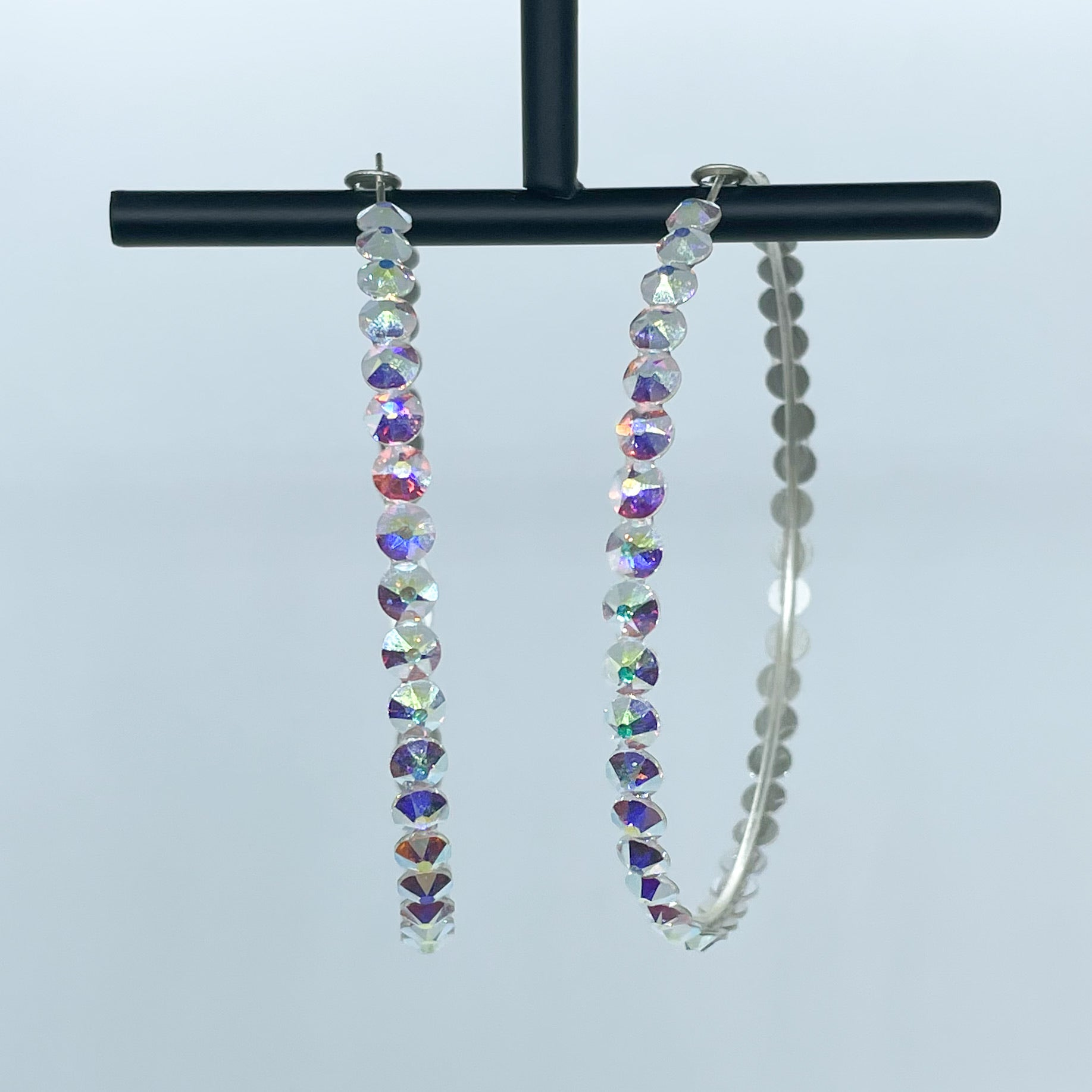 Katherine hoop earrings (Crystal AB)