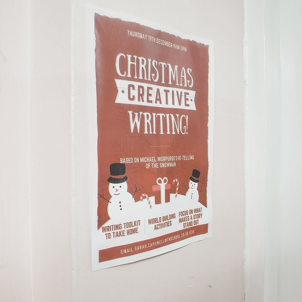 Christmas holiday 'Creative Writing Workshop' provides festive and fantastic opportunity for Terra Nova students