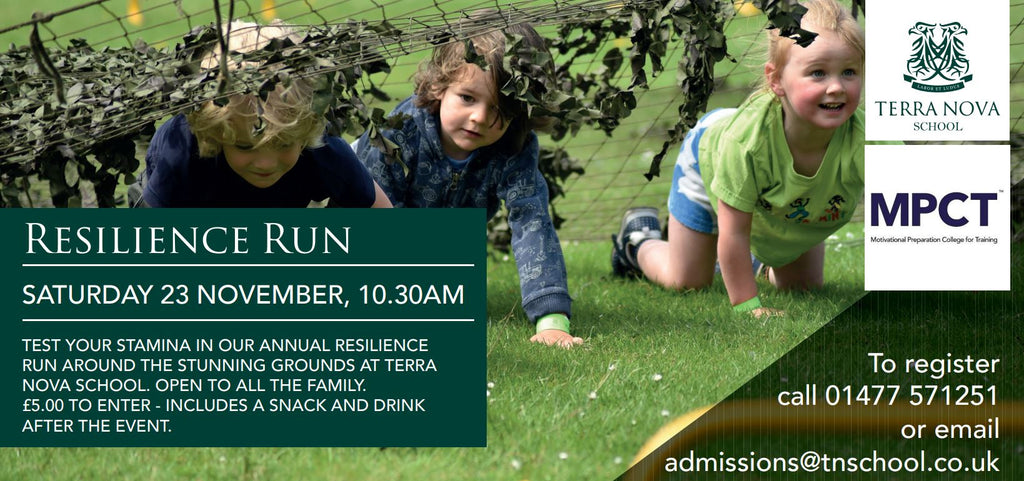 All Welcome - Resilience Run - Saturday 23rd November -10.30am