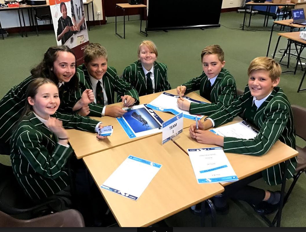 Terra Nova School's Year 8 design technology students participate in Ellesmere College's Faraday challenge
