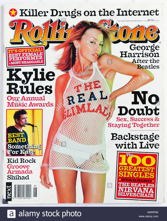 Johnny Rocket Jewellery Kylie Minogue Rolling Stone magazine
