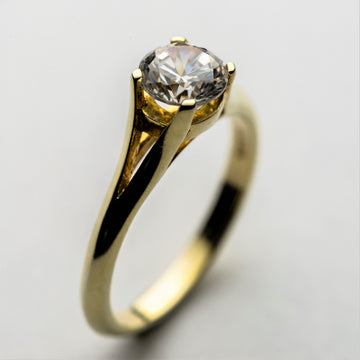 JRE 01 Diamond Engagement Ring