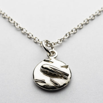 JRSP 04N Flying Saucer Necklace