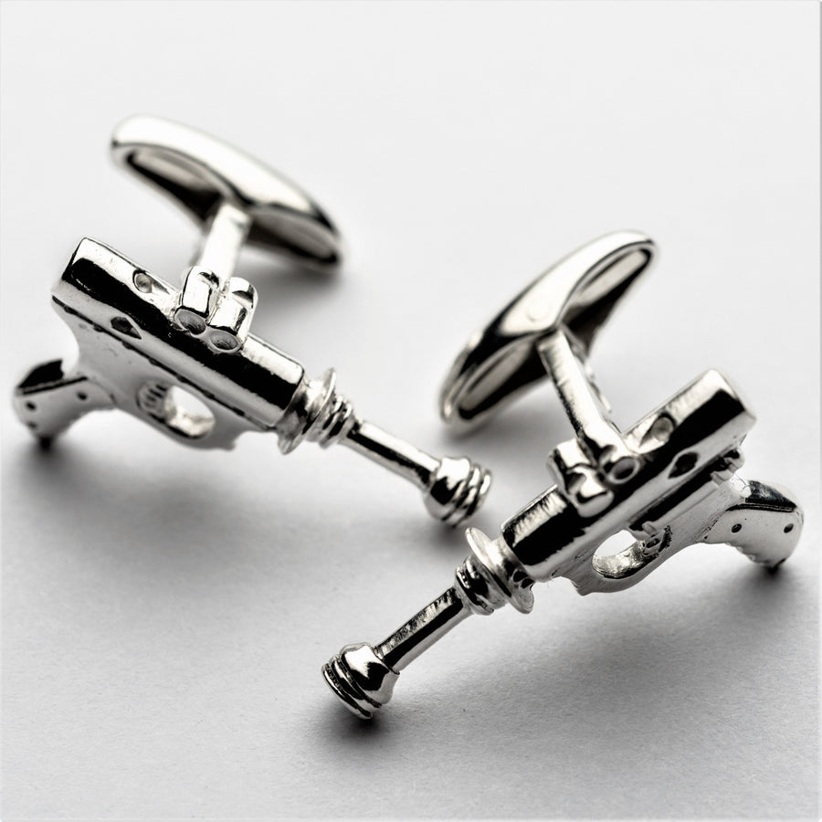 JRSP 09CL Ray-gun Cufflinks