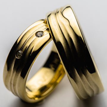 JRW 01 Dune Wedding Ring