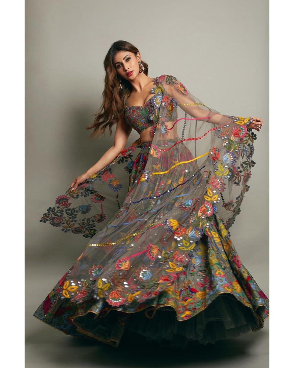 Mouni Roy Latest Lehenga
