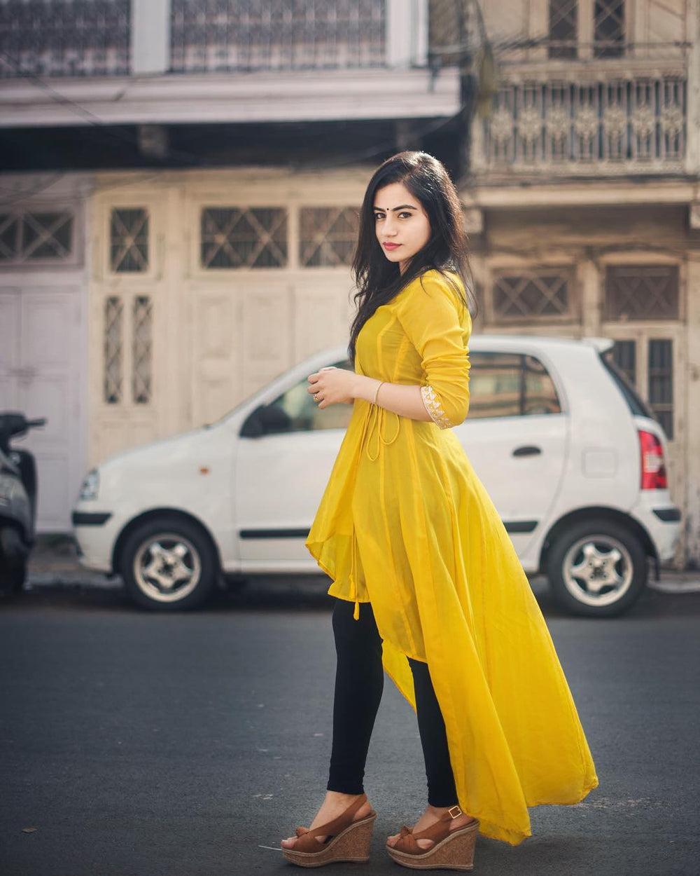 The Ultimate Most Trending Designer kurti With Legging