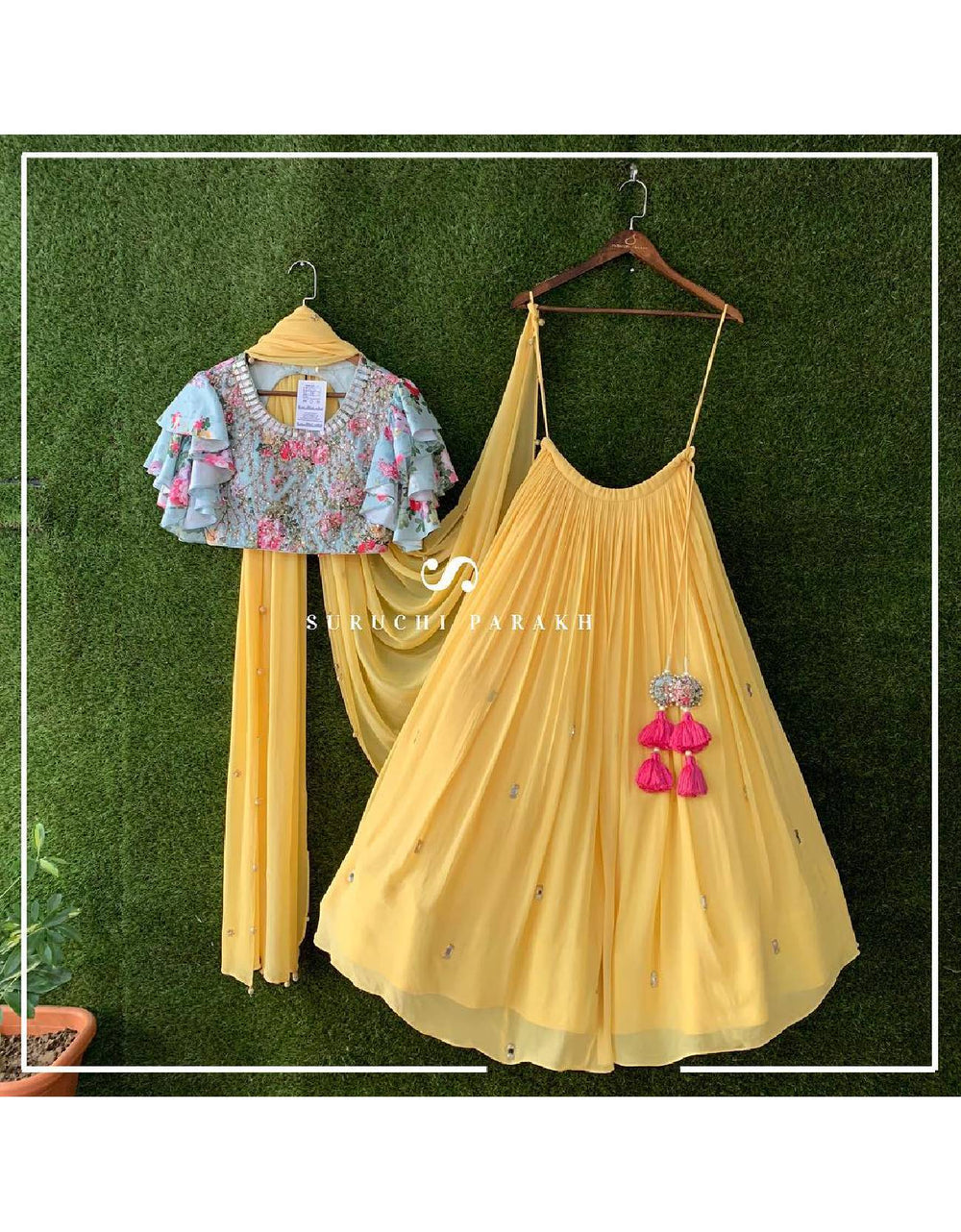 The Ultimate Dress for Haldi