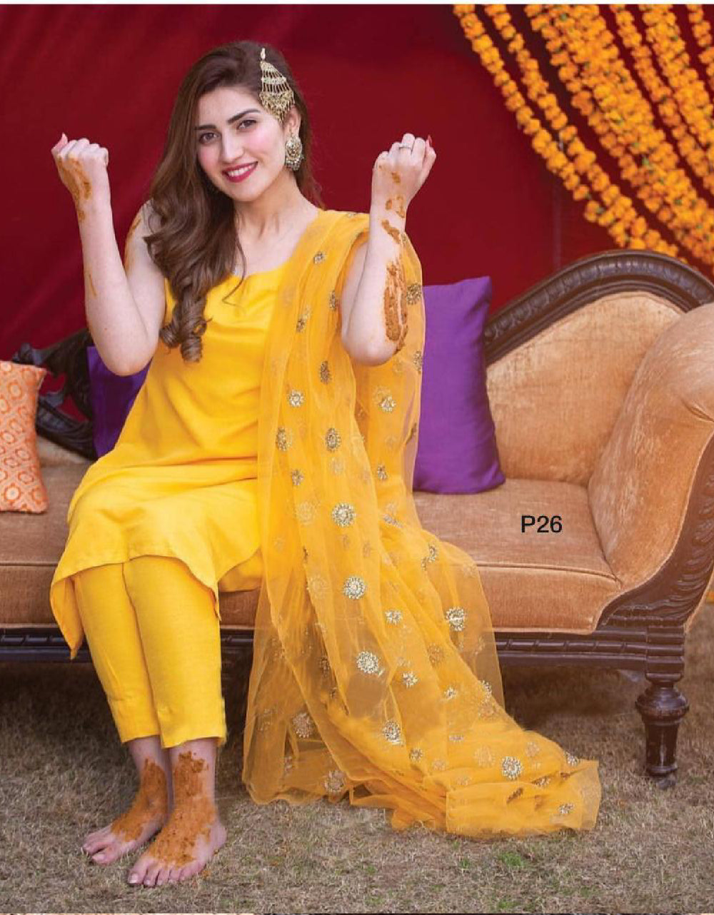 Perfect Outfit For Haldi Function