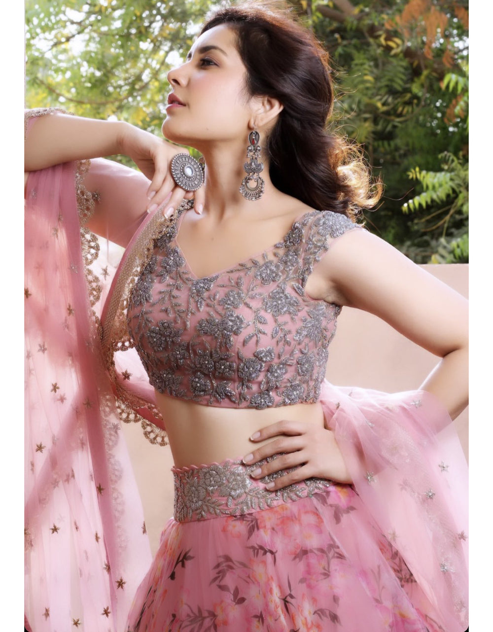 The Ultimate Partywear Designer Lehenga Choli