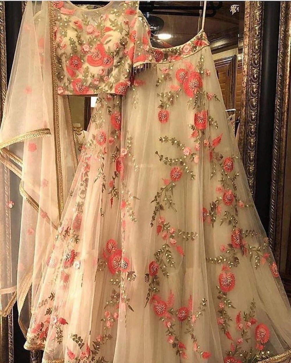 Pakistani Party Wear Lehenga