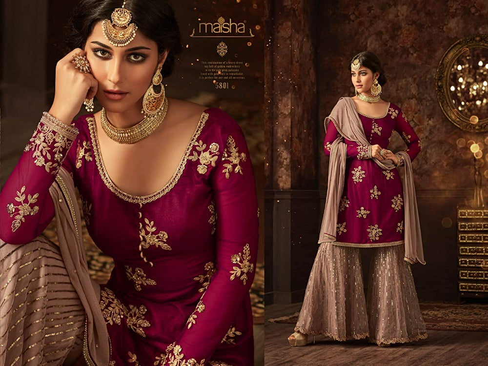 The Ultimate Designer Sharara Suit