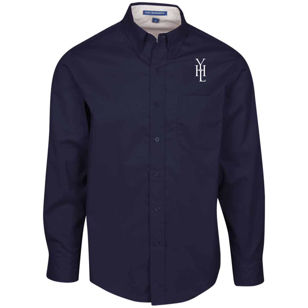 Embroidered Logo Dress Shirt