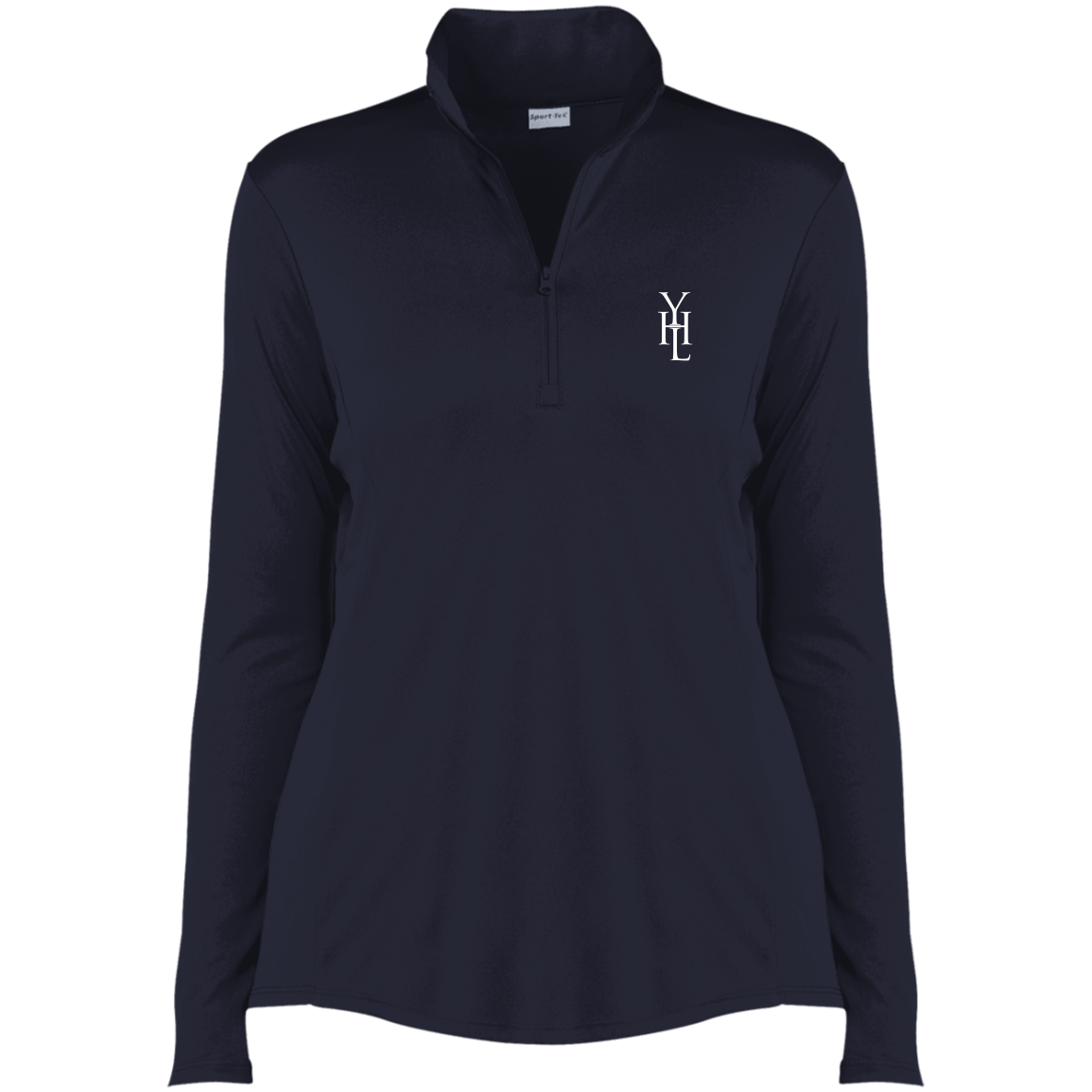 Embroidered Logo 1/4-Zip Pullover - YOUHAVELANDED