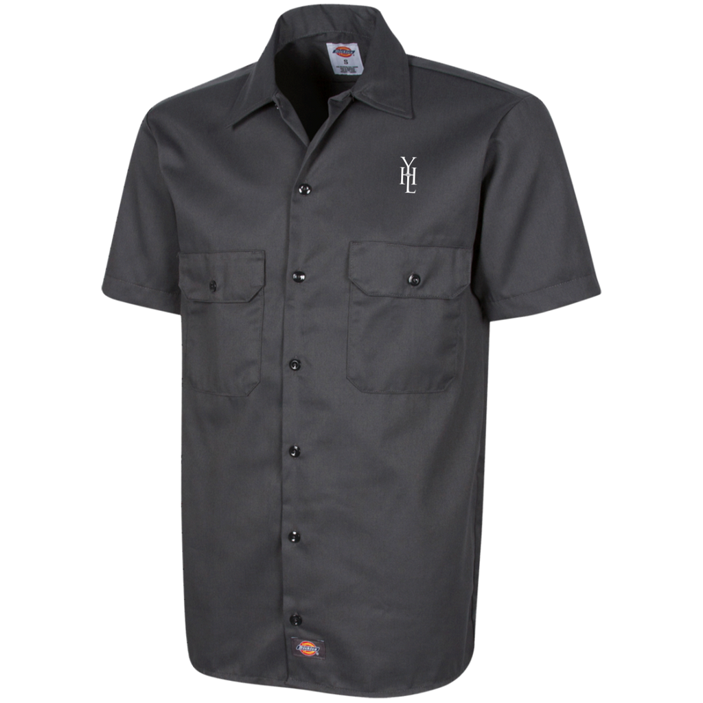 Dickies Embroidered Logo Short Sleeve Workshirt - YOUHAVELANDED