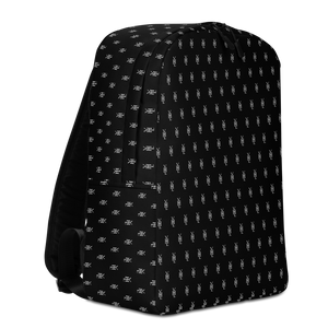 Black YHL Logo Minimalist Backpack