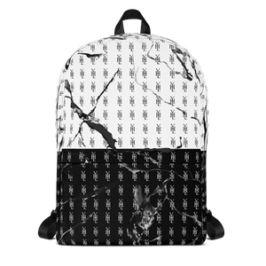B & W YHL Print Backpack - YOUHAVELANDED