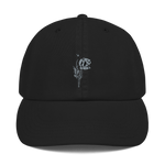 """Grey Poppy"" Champion Dad Hat - YOUHAVELANDED"