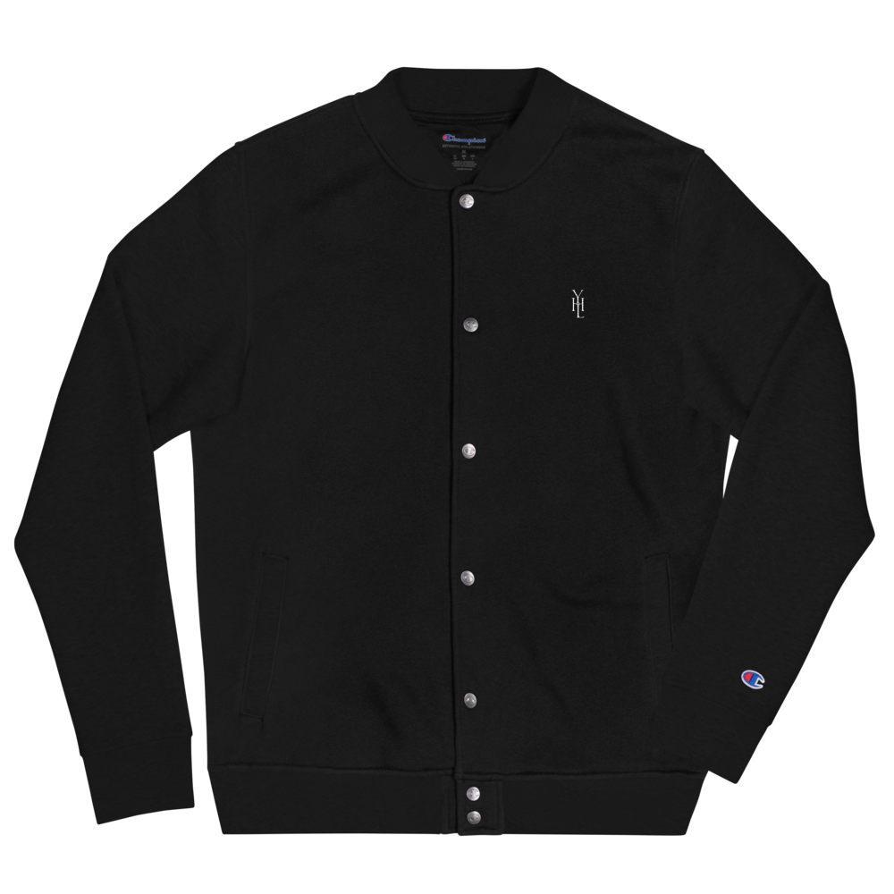 Embroidered Logo Champion Bomber Jacket - YOUHAVELANDED