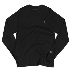 Embroidered Logo Champion Long Sleeve Shirt - YOUHAVELANDED