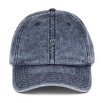 """Grey Poppy"" Vintage Cotton Twill Cap - YOUHAVELANDED"