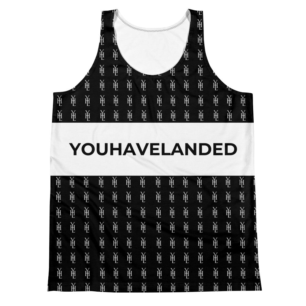 B&W Unisex Tank Top - YOUHAVELANDED
