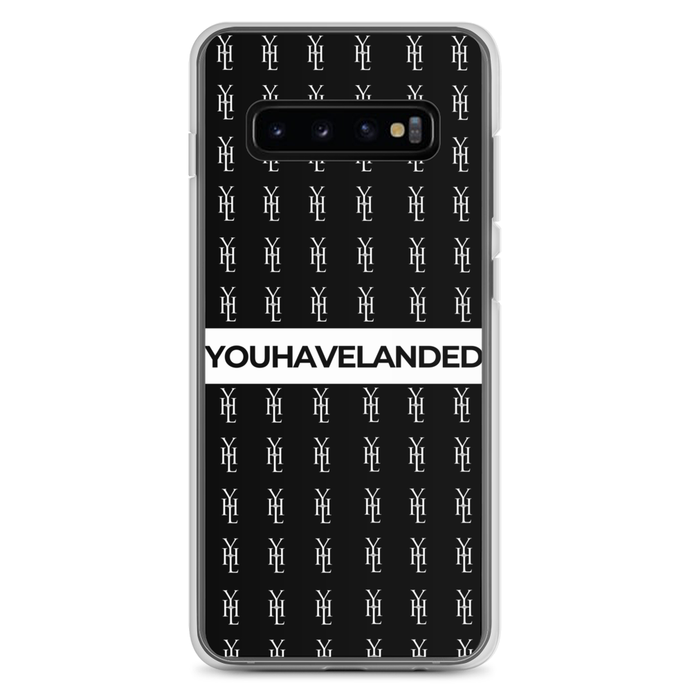 Black All-Over Print Samsung Case - YOUHAVELANDED