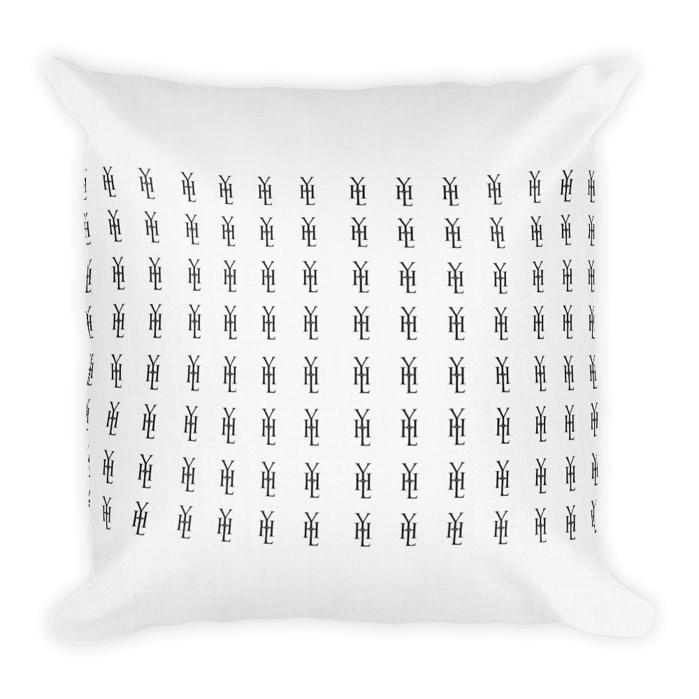 White All-Over Print Throw Pillow - YOUHAVELANDED