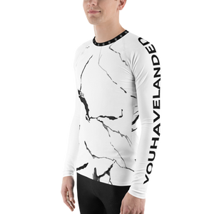 Marbled Athletic Stretch-Fit Shirt - YOUHAVELANDED